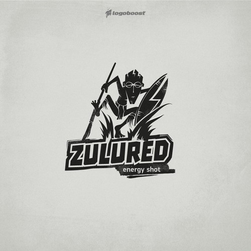 zulu red logo design