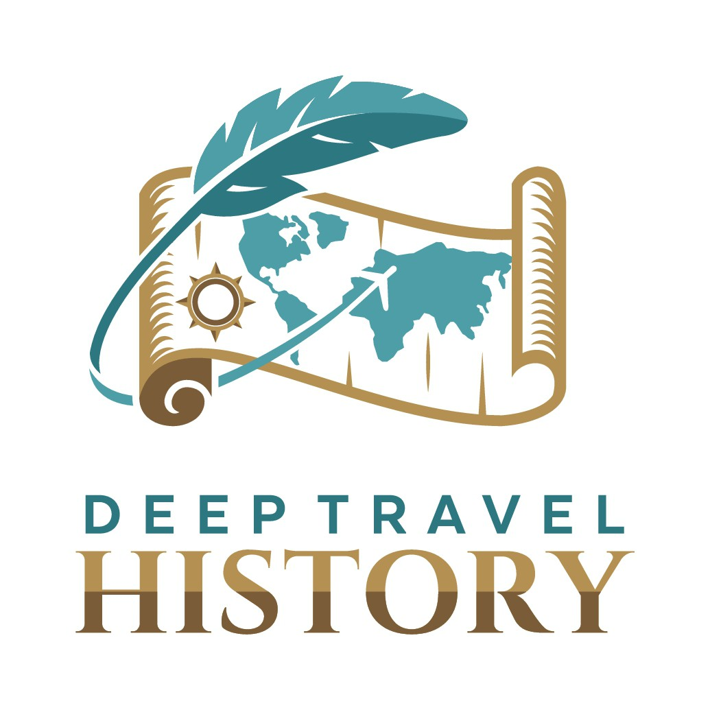 A logo for history nerds who love to travel