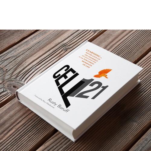 bold minimalist book cover