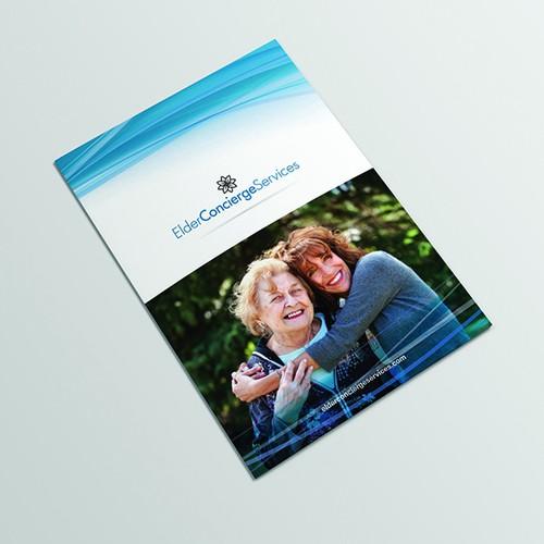 A4 Bifold brochure