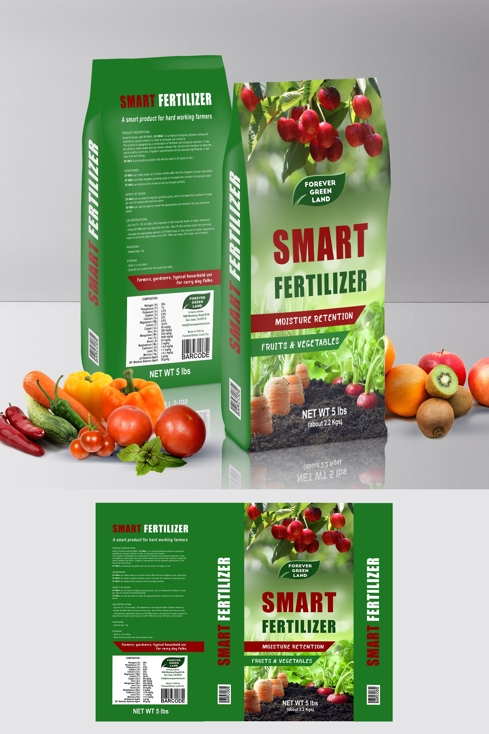Continue works with the Smart Fertilizer