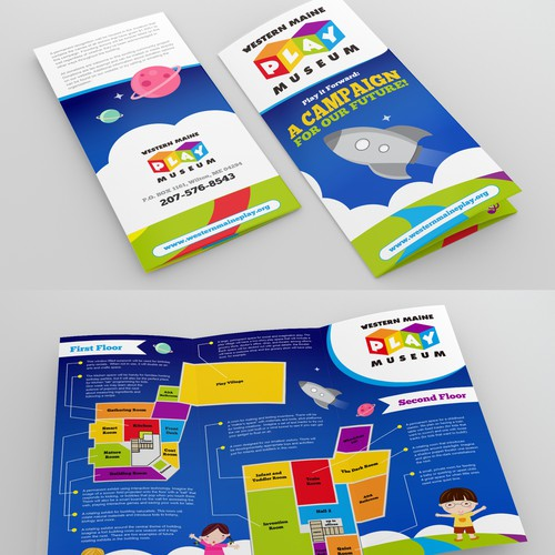 Design a Brochure for Western Maine Play Museum