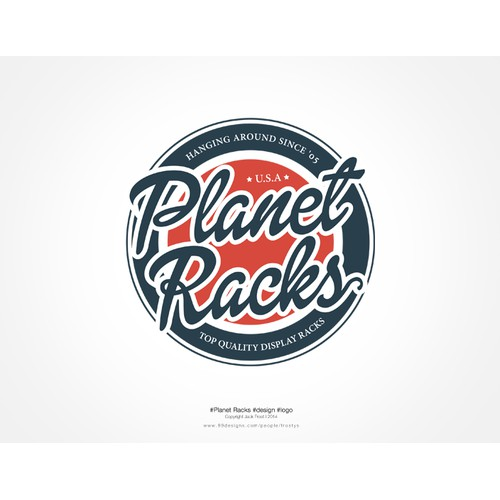Help! Planet Racks needs to get rid of their lame logo and replace it with a fresh new look