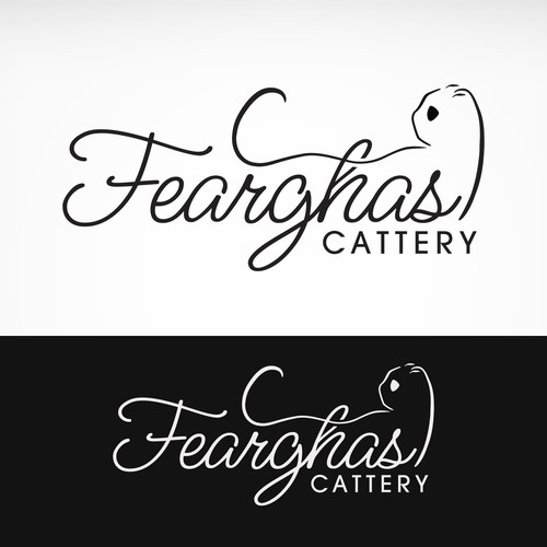 logo for Fearghas Cattery