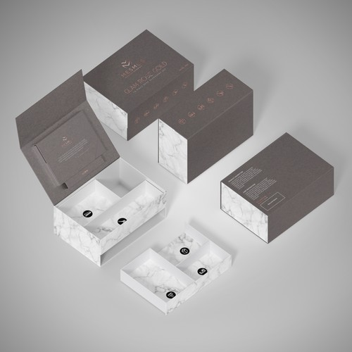 Custom Packaging design for MESMOS