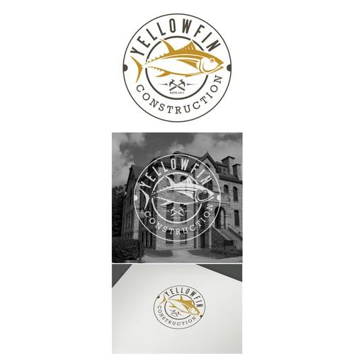 yellowfin construction logo