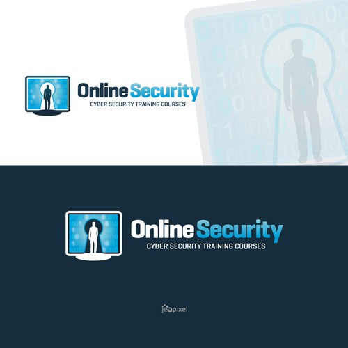 Bold logo of Online Security