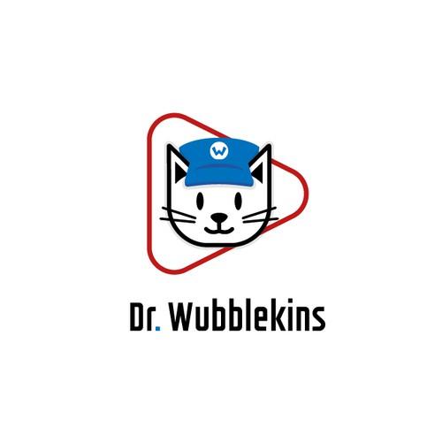 Dr Wubblekins logo design.