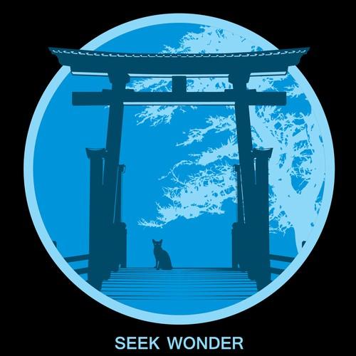 seek wonder tshirts design