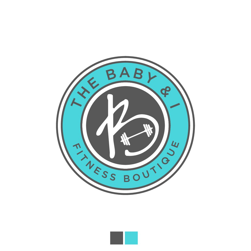 Create an upscale logo for my fitness boutique:  The Baby & I Fitness Boutique