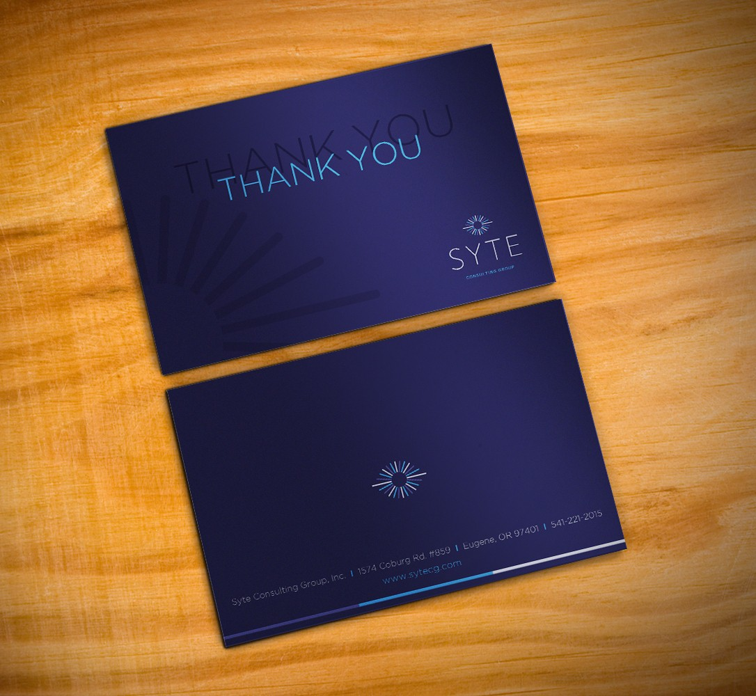 Custom (Branded) Holiday and Thank You Cards