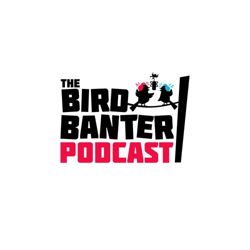 Fun Logo for a Bird Lover's Podcast