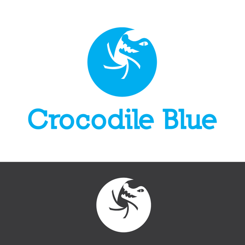 Crocodile Blue