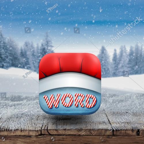 Christmas Chef Hat Icon