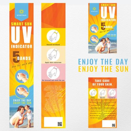 UV smart sun indicator