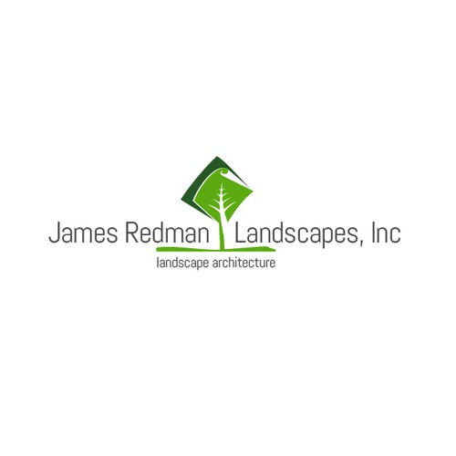 Logo for landscape architect