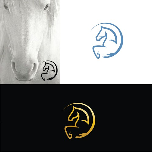 SOLD_ Horse themed logo