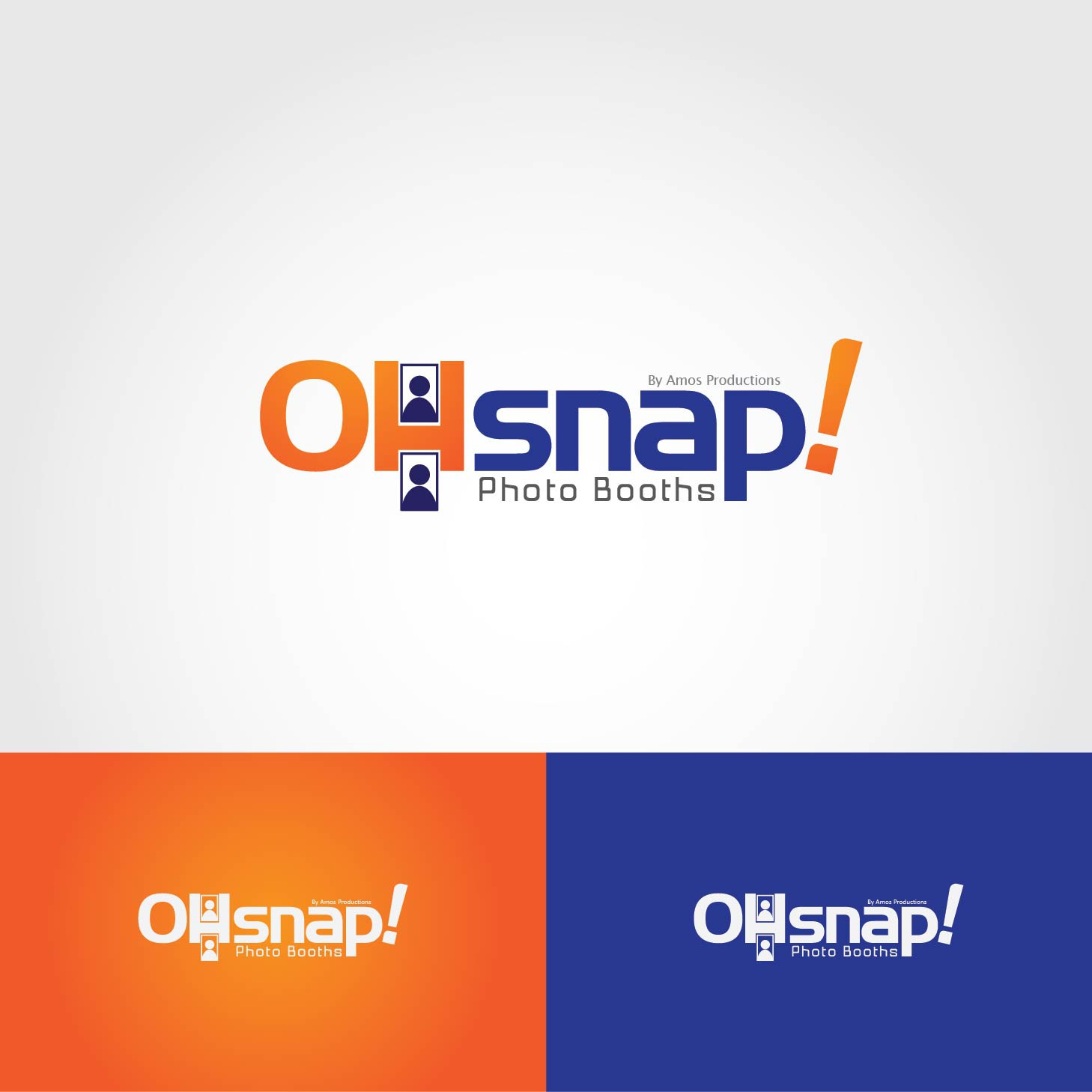 Help Oh Snap! Photo Booths with a new logo