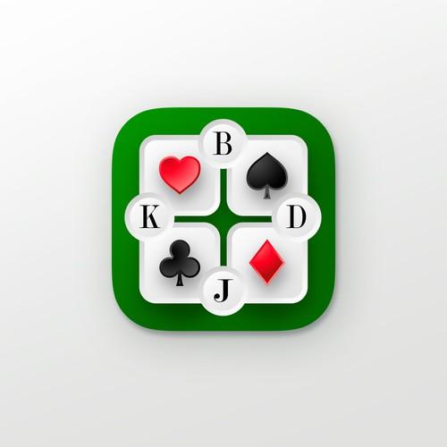 Card Game App Icon Design