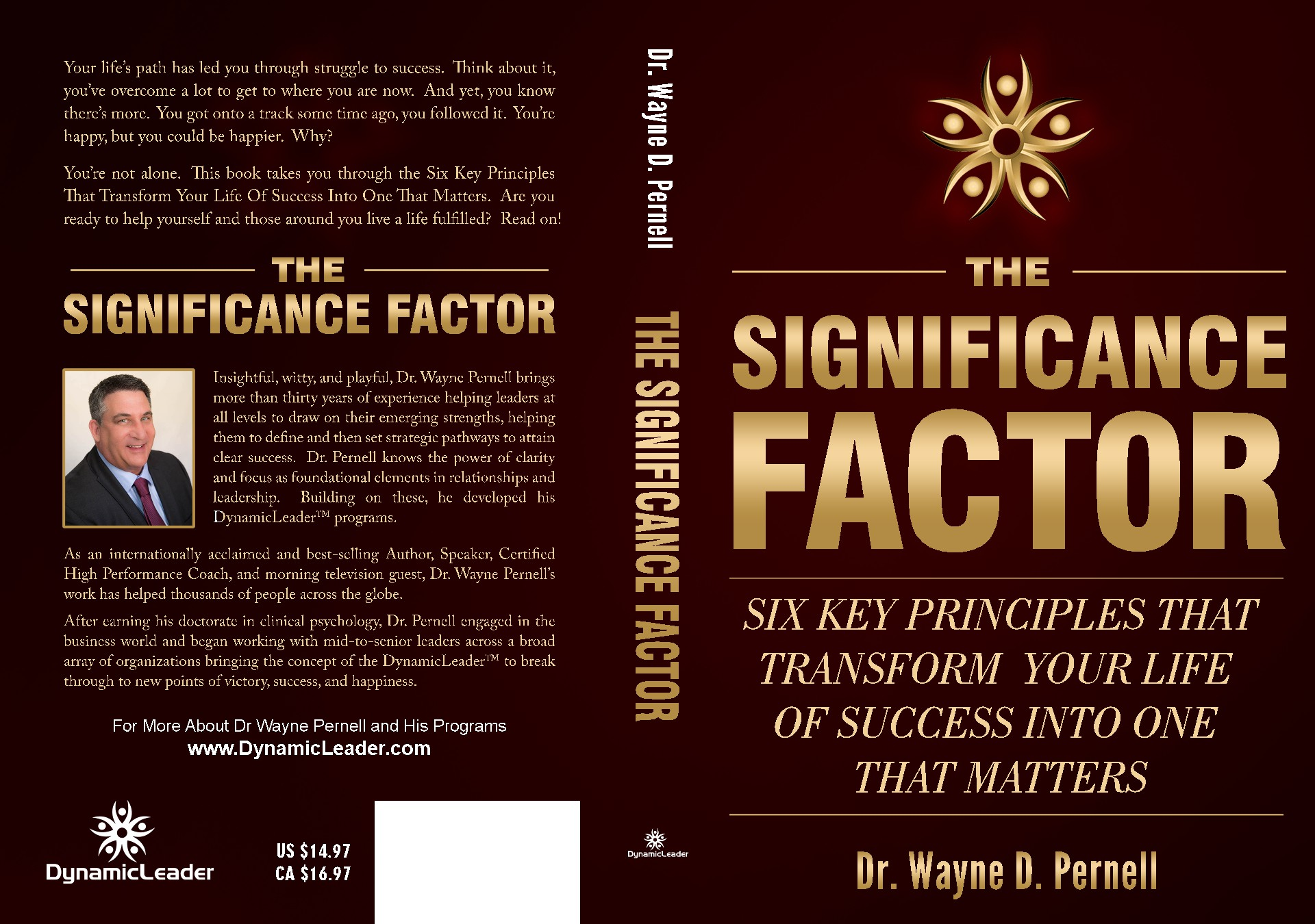 Create a book cover for The Significance Factor and get your work seen on Amazon!