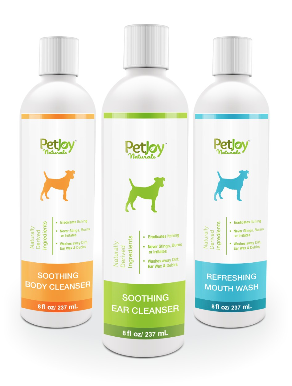 Create a new design concept/product label for our premium all-natural pet care brand!