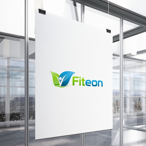 Create a winning logo for Fiteon, a social network for fitness professionals