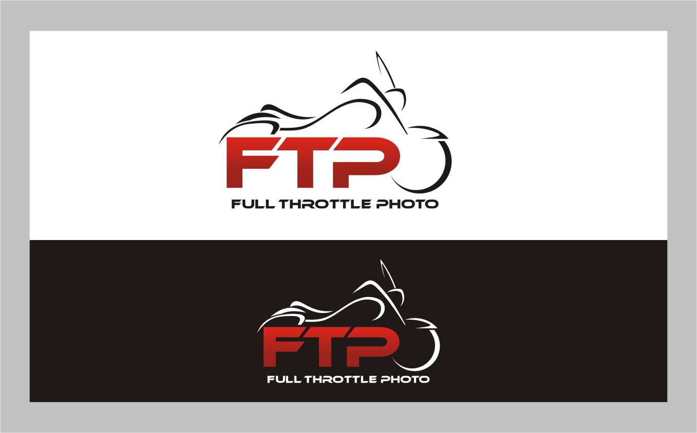 logo for Dave Brewin's Full Throttle Photo