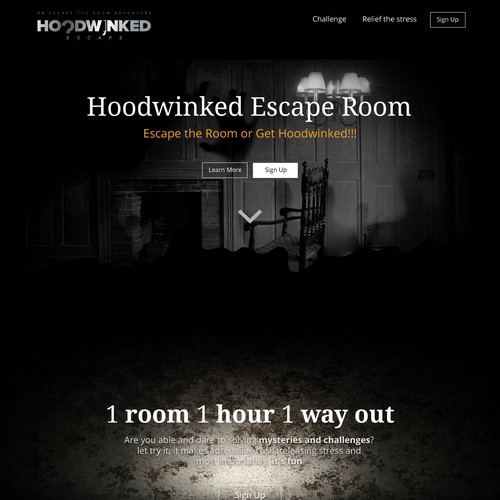 Web Design for Hoodwinked