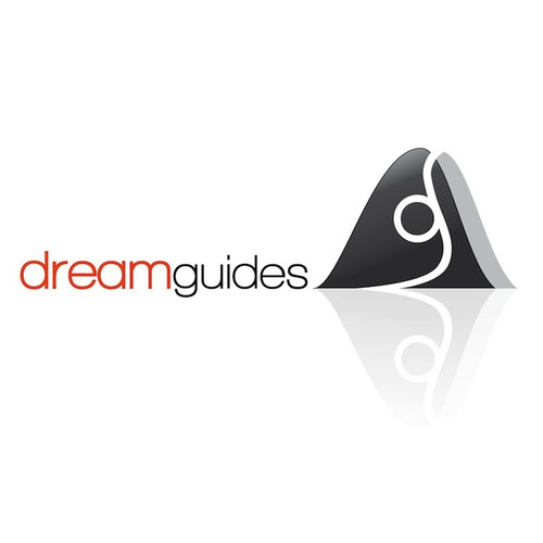 Develop a stylish, professional, abstract mountain guiding logo