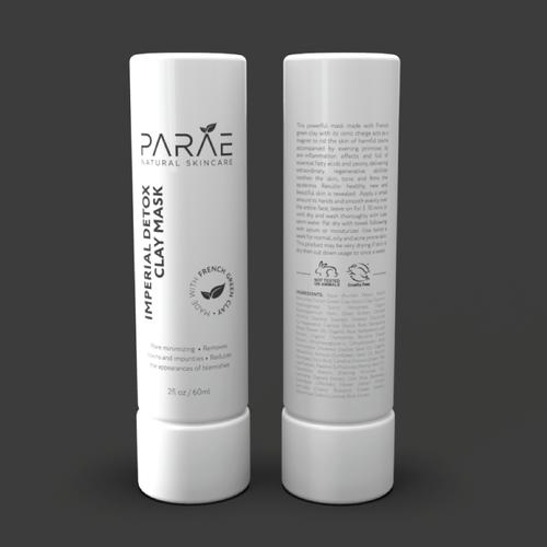label design for Skincare Company