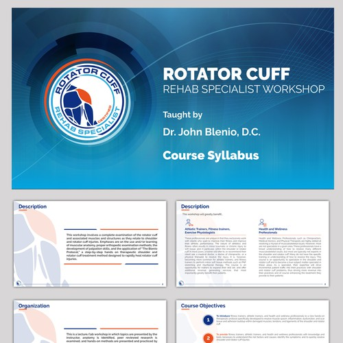 Rotator Cuff Rehab workshop Presentation