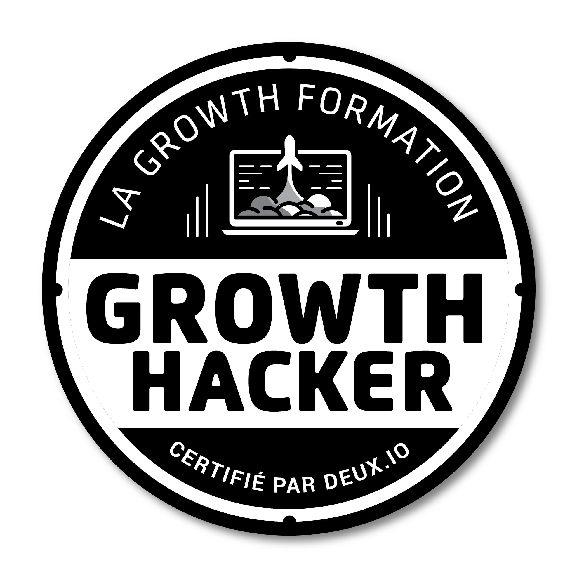 Our Growth Hacking Training needs a Remarkable Sticker !