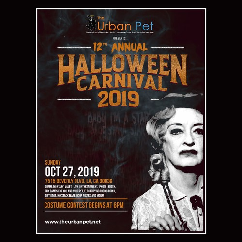 TheUrbanPet Halloween poster