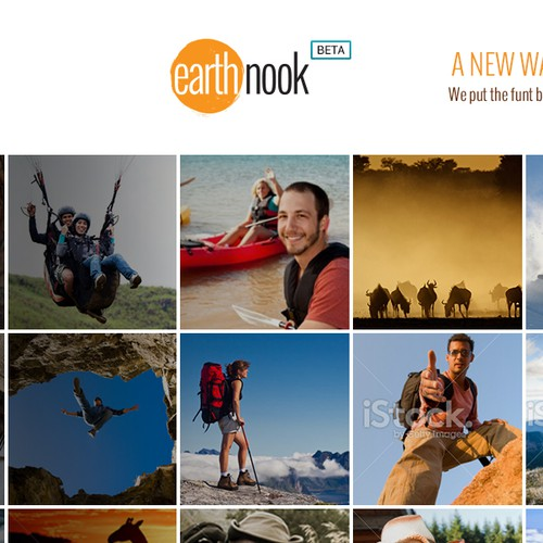 Help Design Travel Website's homepage with a new website design
