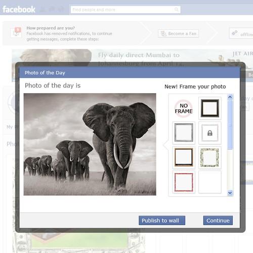 Facebook App design