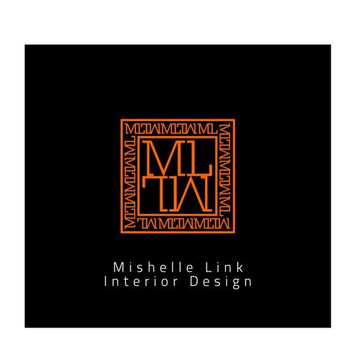 logo for Mishelle Link Interior Design