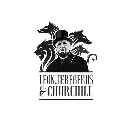 Leon, Cereberus and Churchill Logo