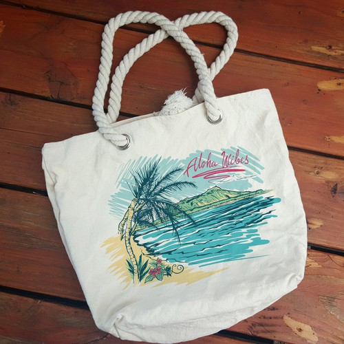 Bag Print for Hawaiian company