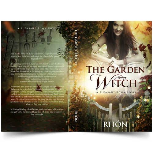 Book cover The Garden Witch