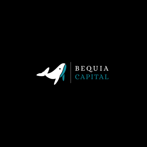 whale logo concept for BEQUIA CAPITAL