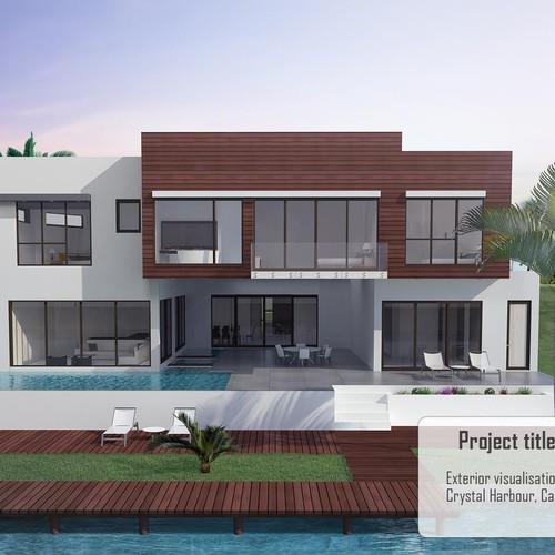 Villa render