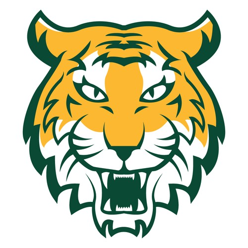 Tiger Mascot Logo for Elementary School