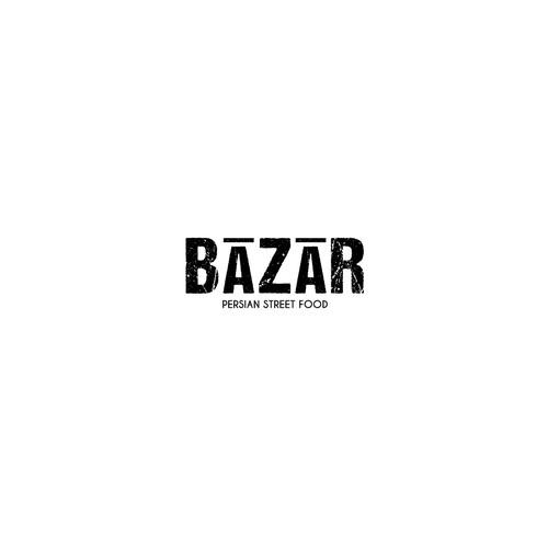 Minimal Bazar logo design