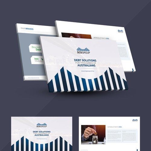 DCS Group Aust Pty Ltd Powerpoint Template Design