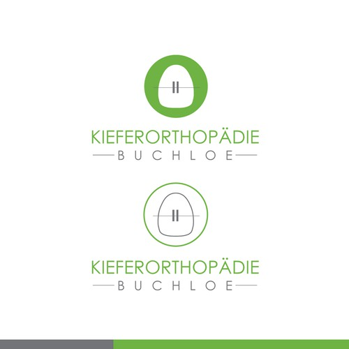 Logo and claim for a orthodontist