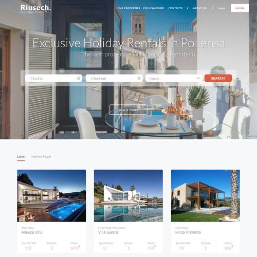 Riusech Web Site