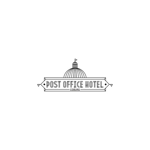 Logo concept for Post Office Hotel