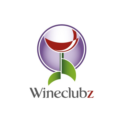 "Playful, Yet Elegant Logo for a Central Hub for ""WineClubz"""