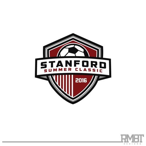 STANFORD SUMMER CLASSIC x  Soccer Tournament Logo Design