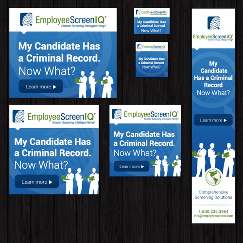 "Create a banner ad for ""My Candidate Has a Criminal Record. Now What?""campaign!"